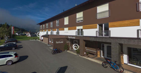 3D Rundgang Virtual Reality fairhotel Tirol